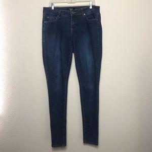 Torrid Dark Wash Skinny Jeans - size 12T